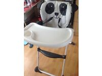 Mothercare panda high chair