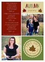 Fall Portrait Specials!