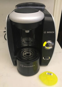 BOSCH TASSIMO T45 SUPREMA - DISC - WATER FILTER GENTLY USED
