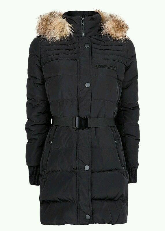 Feather Down Coat by Mango
