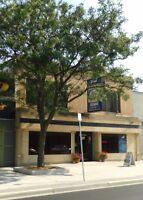 Building features Restaurant & 2 apartments. AAA location!
