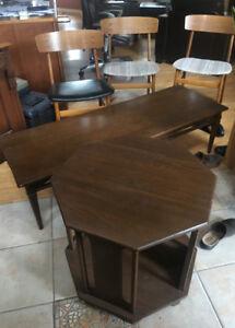 5 Piece Lot Mid Century Furniture Solid Wood Farstrup