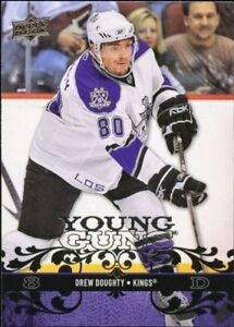 DREW DOUGHTY ... YOUNG GUNS ... ROOKIE CARD .. graded PSA MINT 9