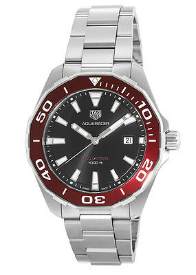 Tag Heuer Aquaracer Red Bezel Men's Watch WAY101B.BA0746