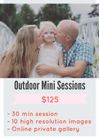 Mini outdoor sessions