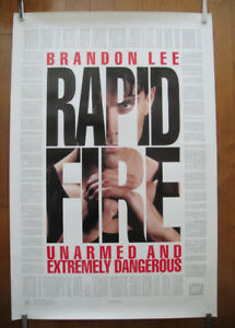 Rapid Fire (1992) Original Rolled Movie Poster