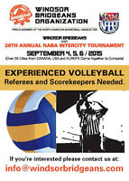 Volleyball Referees Needed