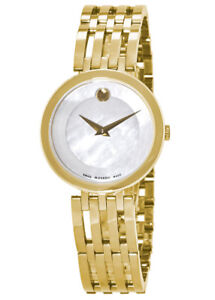 0607054 Movado Esperanza Gold-Tone Stainless Steel Ladies Watch