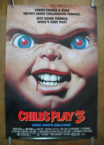 Child's Play 3 (1991) Original Rolled Movie Poster