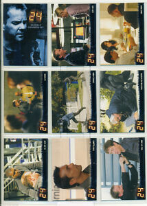 24 SEASON 4 EXPANSION TRADING CARD SET 90 CARDS W/WRAPPER