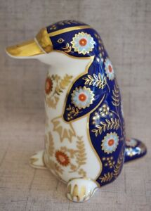 Royal Crown Derby IMARI Paperweight Figurine DUCKBILLED PLATYPUS