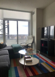 New 1 Bdrm + Den Apartment with view of Lake Ontario