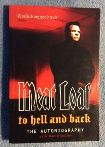 """""""MEAT LOAF - TO HELL and BACK"""" BOOK FOR SALE"""