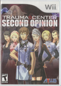 Wii Game - Trauma Center: Second Opinion