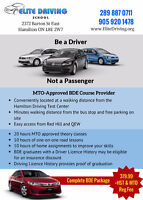 ELITE DRIVING SCHOOL - DRIVING INSTRUCTOR  FOR G2 AND G LICENSE