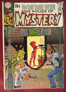 The House Of Mystery #184 Comic 1970
