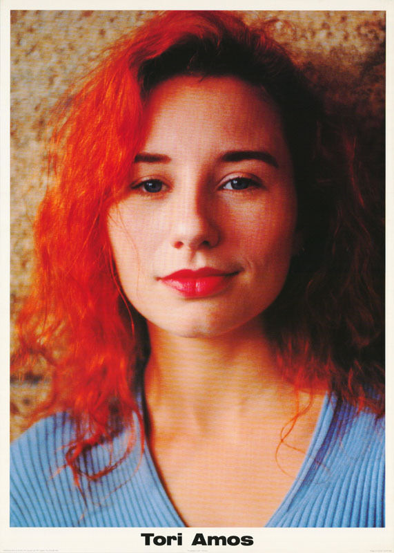 POSTER : MUSIC : TORI AMOS - BLUE TOP - FREE SHIPPING ! #PR3062  LW13 G