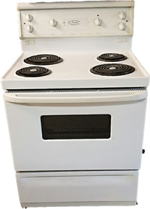 "Full size electric stove, Whirlpool , 30""wide, for sale."