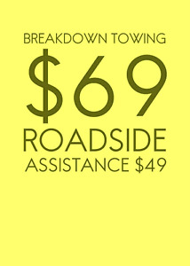 CHEAP TOWING ROADSIDE ASSISTANCE TOW TRUCK WRECKER MISSISSAUGA