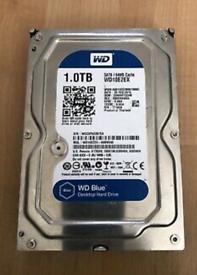 1tb western digital blue hard drive
