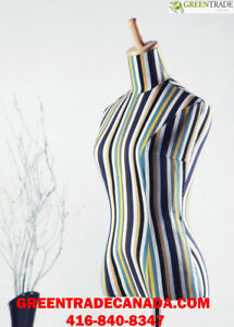 Different Mannequin male or female Dress Forms, heads & torso