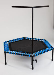 Fitness trampolines for a fitness club/gym