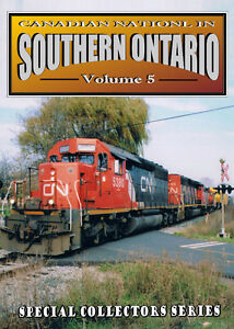 Canadian National In Southern Ontario - Vol 5