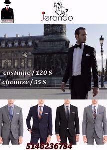 costumes pour hommes a Montréal