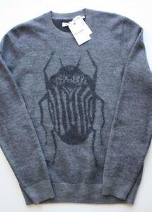 Ben Sherman Sweater Bugs jumper pullover New with Tags Men's Med