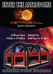 Astroball Arena - Inflatable rental business.