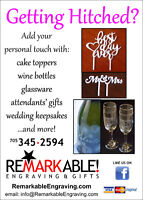 Personalize your special day!