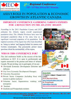 Asia's Role in Population & Economic Growth in Atlantic Canada