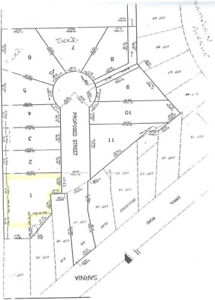 Executive building lot for sale