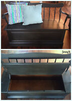 Gorgeous Entry Bench with Storage
