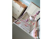 Baby Nursery Furniture for sale! Cot, wardrobe, drawers/changing unit