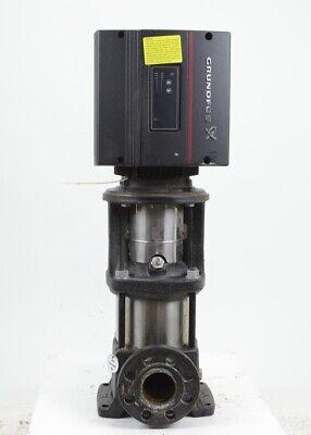 Grundfos 4-stage 2 Cre 10-4a-gj-a-e-hqqe Inline Ansi Booster Pump Wvfd Motor