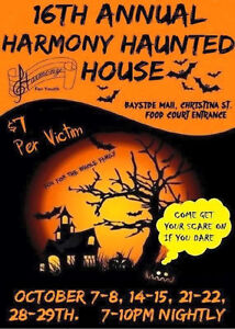 Haunted House by Harmony for Youth Sarnia Sarnia Area image 1