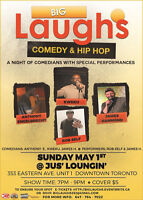 BIG LAUGHS:  Comedy & Music Show