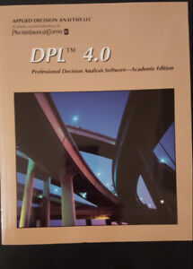 DPL 4.0 professional decision analysis software :