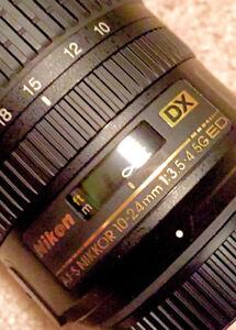 MINT!!  Nikon AF-S Nikkor 10-24mm f/3.5-4.5 G ED