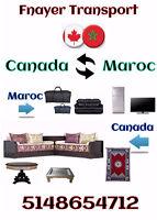 transport en container pour le Maroc , départ bientôt