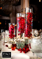 Cylinder 3 piece set wedding centerpiece $19.99