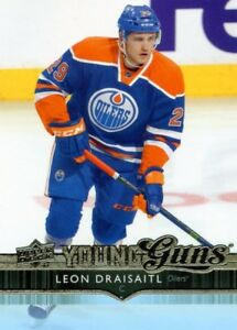 LEON DRAISAITL .... YOUNG GUNS .... ROOKIE CARD ... PSA 9 and 10