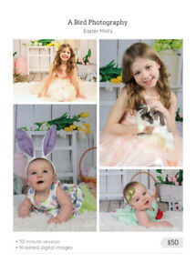 Easter Mini Photography Session