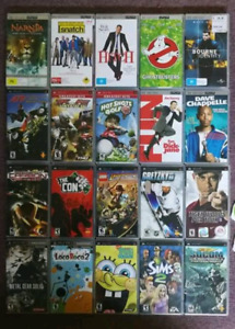 22 PSP Games and UMD Movies