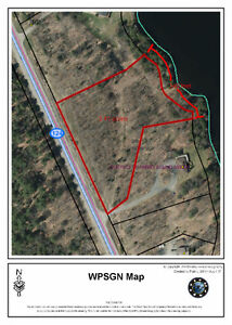 Bell Lake lot - Vacant Waterfront Building Lot