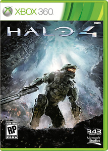 HALO 4 FOR XBOX 360 *MINT CONDITION*
