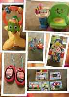 Moving sale toys