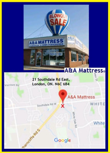 New Double Mattress *from $119.99 or the 2Pc set for $199.99