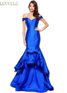 ROYAL BLUE DESIGNER DRESS FOR ENGAGMENT/PARTY/PROM